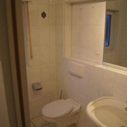 WC in einem alten Bad